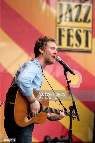 Glen Hansard Academy Award winning singer songwriter and principal vocalist/guitarist for the bands The Frames and The Swell Season performs during...