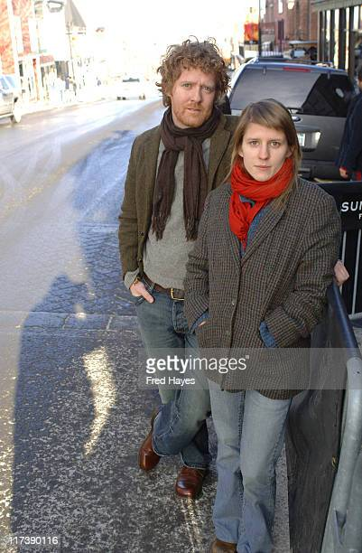 Glen Hansard and Marketa Irglova during 2007 Sundance Film Festival Once Premiere at Egyptian Theatre in Park City Utah United States