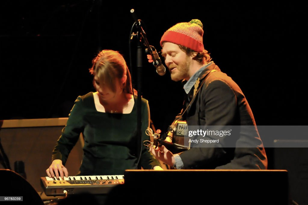 The Swell Season Perform At Shepherds Bush Empire In London : News Photo