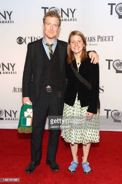 Glen Hansard and Markéta Irglová attend the 66th Annual Tony Awards at The Beacon Theatre on June 10 2012 in New York City