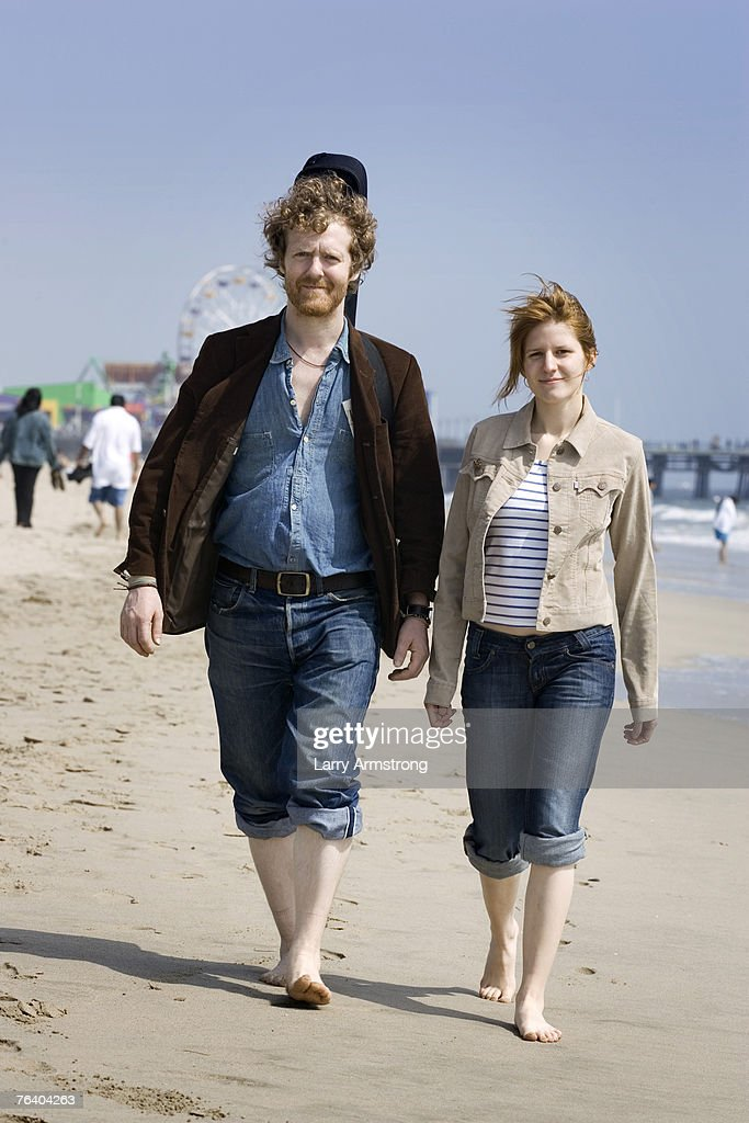 John Carney, Glen Hansard & Marketa Irglova, USA Today, June 11, 2007 : News Photo