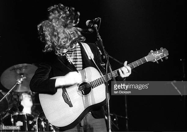 Glen Hansard of The Frames performing on stage at the Town Country Club London United Kingdom 1992