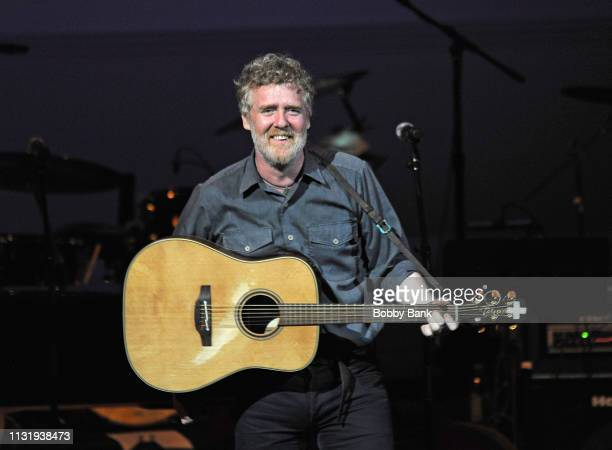 Glen Hansard performs at Michael Dorf Presents The Music Of Van Morrison at Carnegie Hall on March 21 2019 in New York City