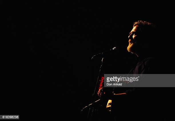 Glen Hansard performs at Sydney Opera House on October 22 2016 in Sydney Australia