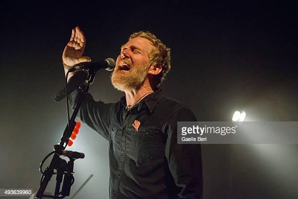 Glen Hansard performs live at O2 Shepherd's Bush Empire on October 21 2015 in London England