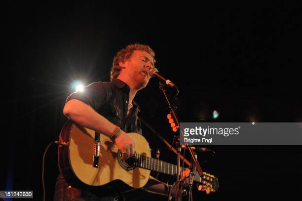 Glen Hansard performs on stage at the Union Chapel on September 4 2012 in London United Kingdom