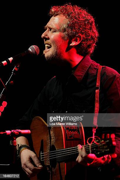 Glen Hansard performs with The Frames at the Sydney Opera House on March 25 2013 in Sydney Australia