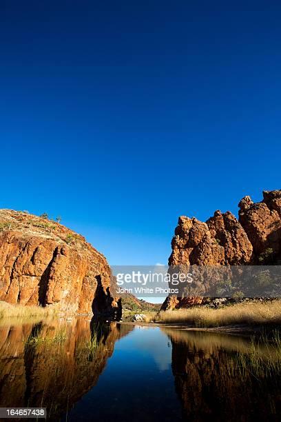 Glen Helen Gorge. Northern Territory. Australia.