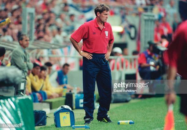 Glen Hoddle England managerEngland v Romania at the State Le Toulouse stadium FIFA World Cup in France 22nd June 1998.