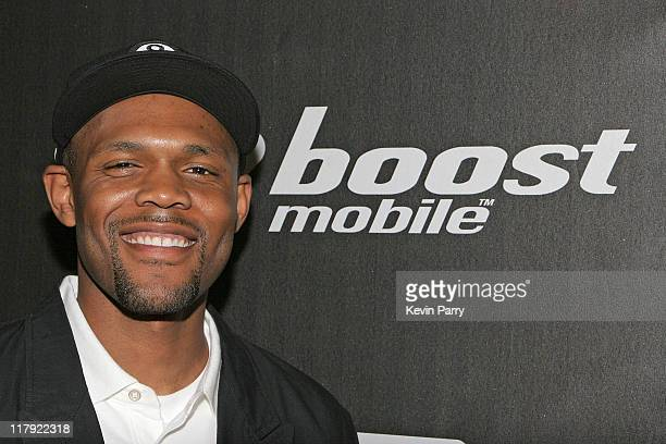 Glen Hodge Boost Mobile executive during And1 Mixtape Tour Volume 9 Premiere at Mann's Chinese Six in Hollywood California United States