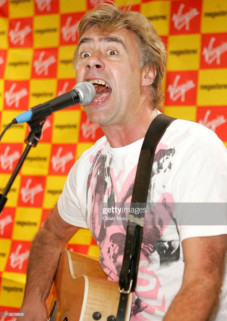 Glen Matlock during Glen Matlock In Store Performance at Virgin Megastore - October 10, 2006 at Virgin Megastore in London, Great Britain.