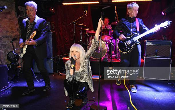 Glen Matlock Sshh Liguz Paul Cook and Zak Starkey perform at the launch of Issues a new album by SSHH in aid of Teenage Cancer Trust at The Box on...
