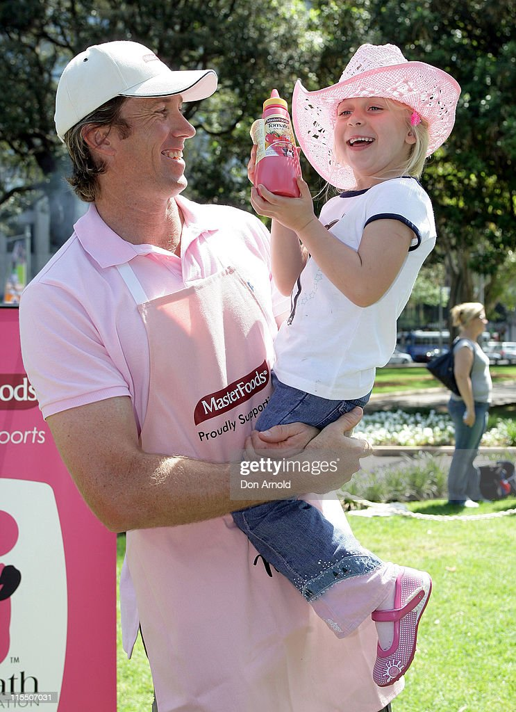 McGrath Foundation Barbecue for Breast Cancer : News Photo