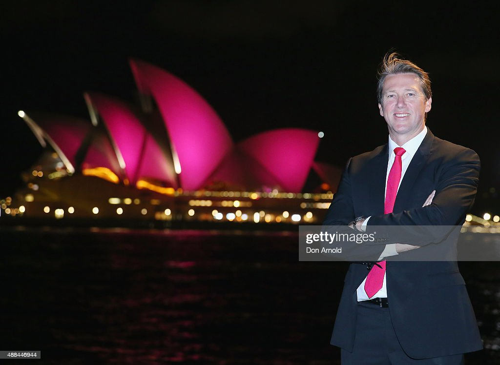 McGrath Foundation Turns Opera House Sails Pink