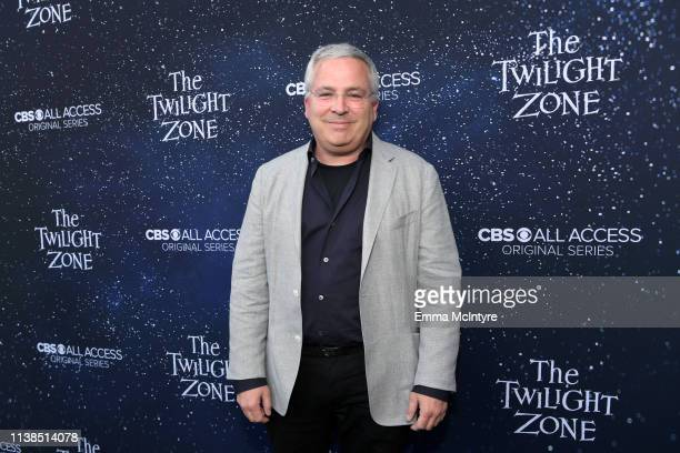 Glen Morgan attends CBS All Access new series The Twilight Zone premiere at the Harmony Gold Preview House and Theater on March 26 2019 in Hollywood...