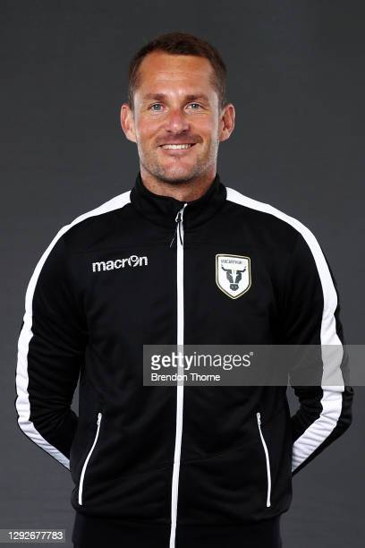 Glen Moss poses during the Macarthur FC A-League 2020/21 Headshots Session at Fairfield Showground on December 23, 2020 in Sydney, Australia.