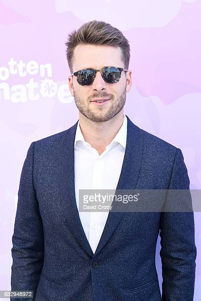 Glen Powell arrives at Variety's Celebratory Brunch Event For Awards Nominees Benefiting Motion Picture Television Fund at Cecconi's on January 28...