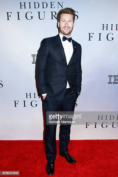 Glen Powell at the Hidden Figures New York Special Screening at SVA Theater on December 10 2016 in New York City