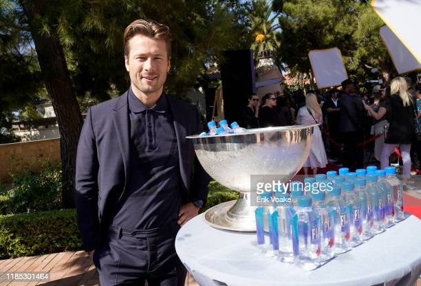 Glen Powell attends FIJI Water at Newport Beach Film Festival Fall Honors and Variety's 10 Actors to watch on November 03 2019 in Newport Beach...
