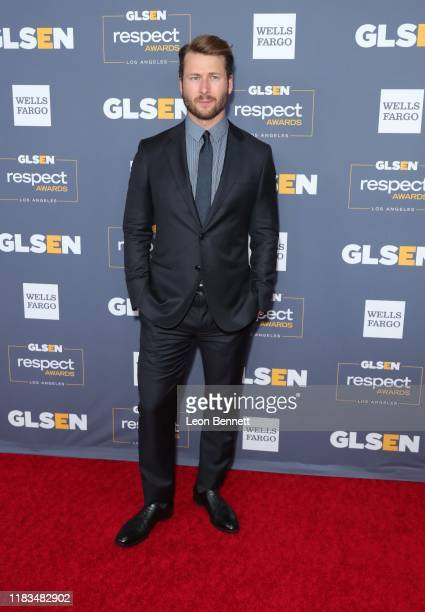 Glen Powell attends the 2019 GLSEN Respect Awards at the Beverly Wilshire Four Seasons Hotel on October 25 2019 in Beverly Hills California