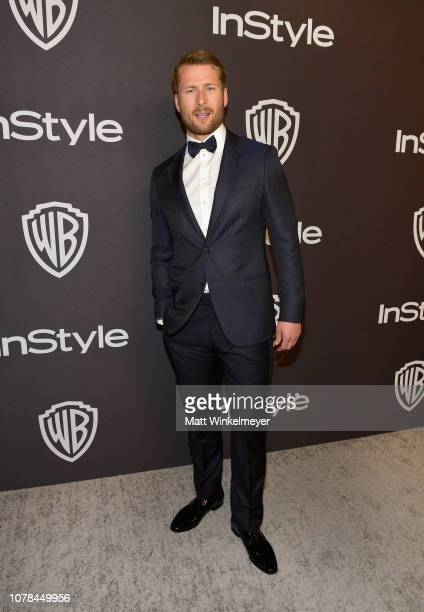 Glen Powell attends the 2019 InStyle and Warner Bros 76th Annual Golden Globe Awards PostParty at The Beverly Hilton Hotel on January 6 2019 in...