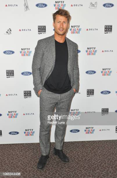 Glen Powell attends the 7th Annual 'Reel Stories Real Lives' event benefiting MPTF at DGA Theater on November 08 2018 in Los Angeles California