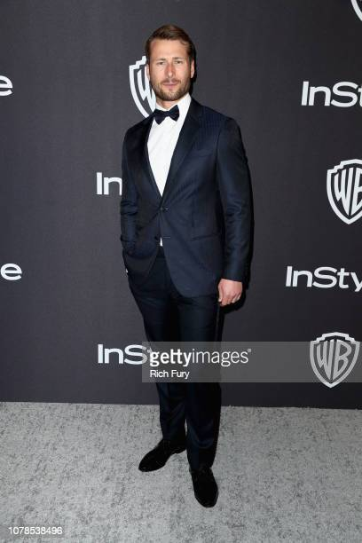 Glen Powell attends the InStyle And Warner Bros Golden Globes After Party 2019 at The Beverly Hilton Hotel on January 6 2019 in Beverly Hills...