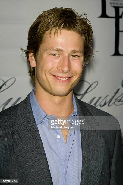Glen Powelljr attends the LaurenElaine designs runway event at Le Doux on June 25 2009 in Los Angeles California