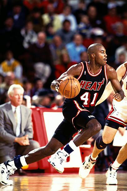 Glen Rice of the Miami Heat