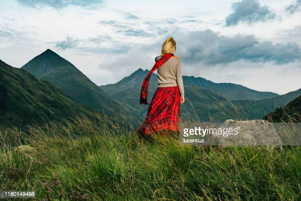 glen shiel view, with freedom, scotland - scottish culture stock pictures, royalty-free photos & images