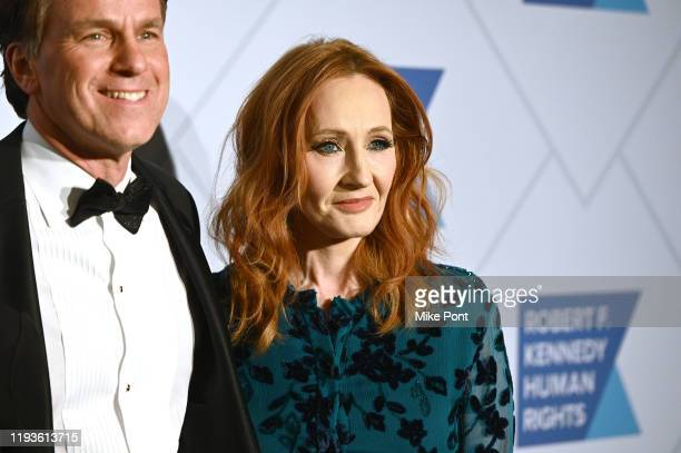 Glen Tullman and JK Rowling attend the Robert F Kennedy Human Rights Hosts 2019 Ripple Of Hope Gala Auction In NYC on December 12 2019 in New York...