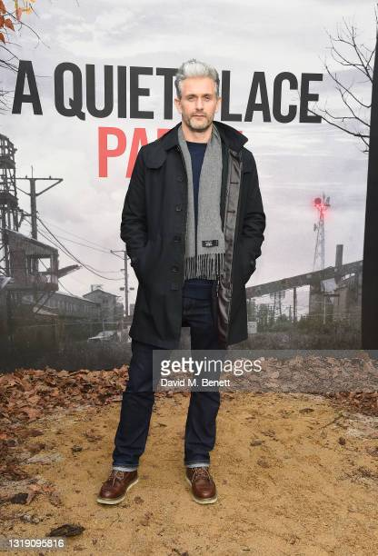 """Glen Wallace attends a special screening of """"A Quiet Place Part II"""" at Cineworld Leicester Square on May 20, 2021 in London, England."""