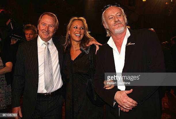 Glen WheatleyGaynor Wheatley and Billy Birmingham arrive at the 2009 ARIA Hall of Fame awards at The Forum Theatre on August 27 2009 in Melbourne...
