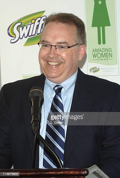Glen Williams of Proctor Gamble during Cindy Crawford Announces the Winners of the First Annual Swiffer Amazing Women of the Year Awards at Regent...