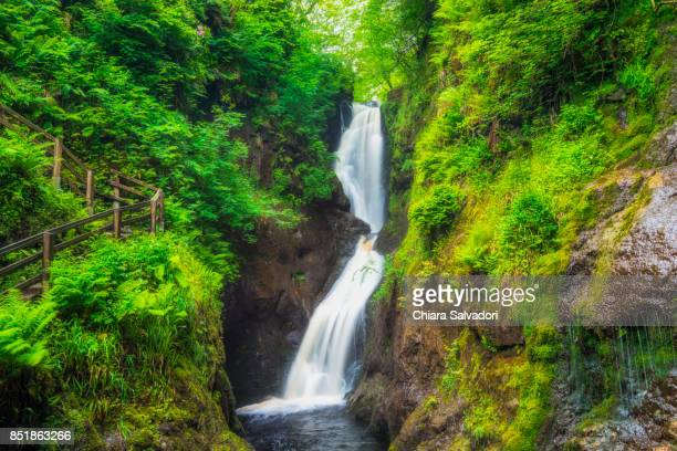 glenariff national park - county antrim stock pictures, royalty-free photos & images