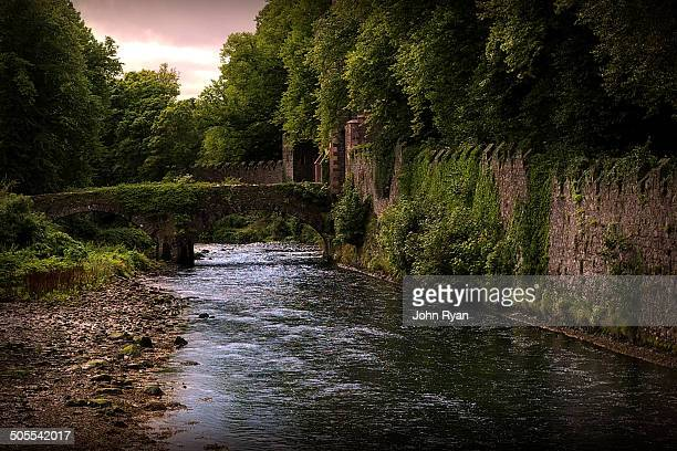 CONTENT] Glenarm Northern Ireland Stream and Bridge