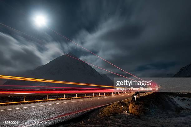 Glencoe at night