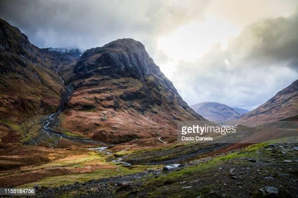 glencoe highlands - glasgow scotland stock pictures, royalty-free photos & images