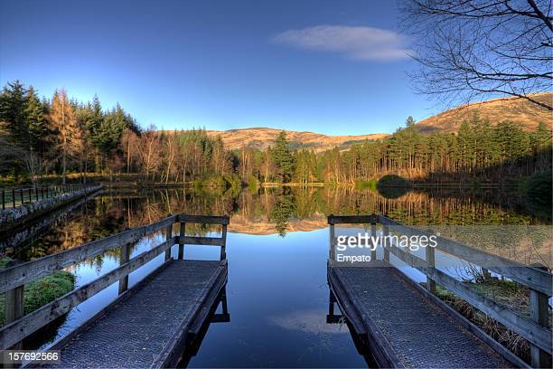 Glencoe Lochan on a beautiful winters morning.
