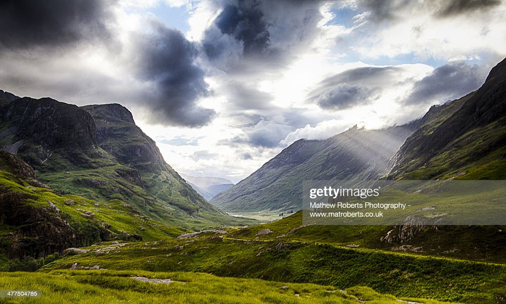 Glencoe, Scotland : Stock Photo