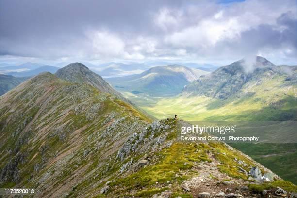 glencoe, scottish highlands - glencoe scotland stock pictures, royalty-free photos & images