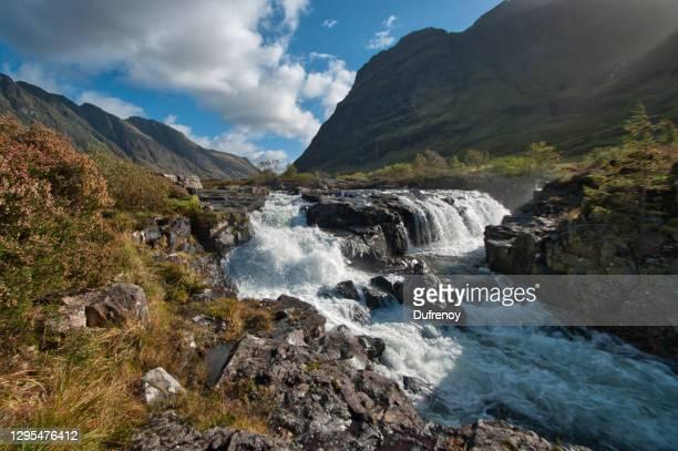 glencoe, scottish landscapes - landscape scenery stock pictures, royalty-free photos & images