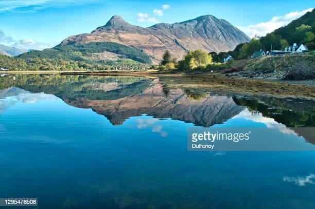 glencoe, scottish landscapes - glencoe scotland stock pictures, royalty-free photos & images
