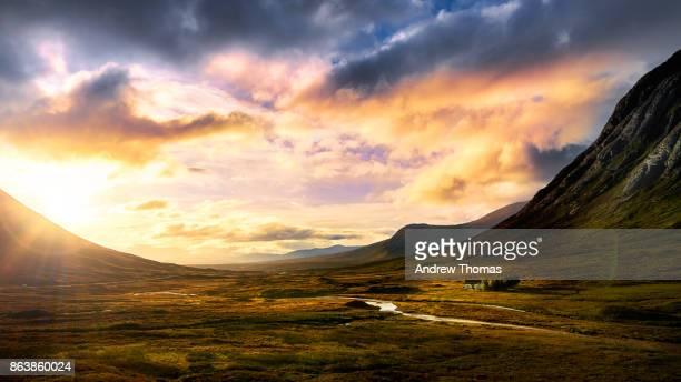 Glencoe sunrise panorama