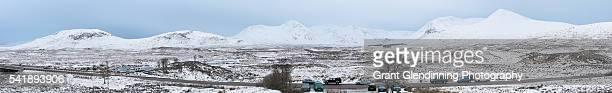 Glencoe Winter Panorama