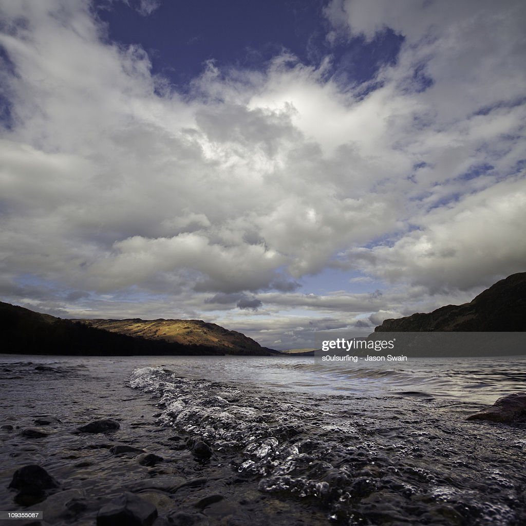 Glencoyne Bubbles. Ullswater, Lake District : Stock Photo