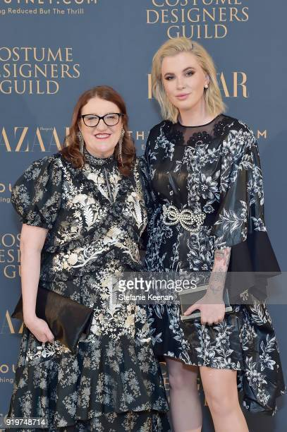 Glenda Bailey and Ireland Baldwin attend Harper's BAZAAR and the CDG Celebrate Top Costume Designers and Nominees of the 20th CDGA with an Event...