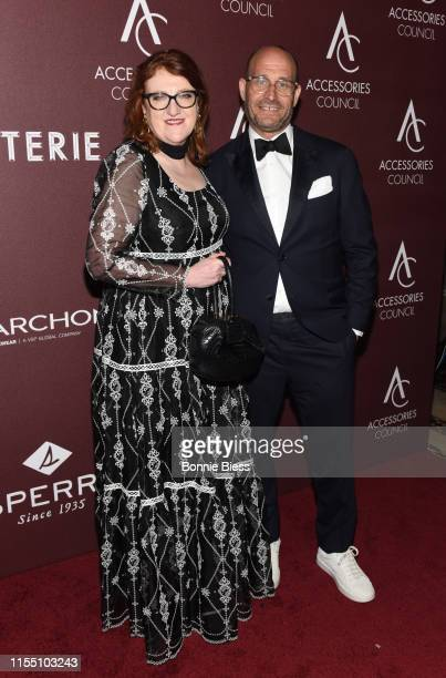 Glenda Bailey and Marc Metrick attend the 23rd Annual ACE Awards at Cipriani 42nd Street on June 10 2019 in New York City