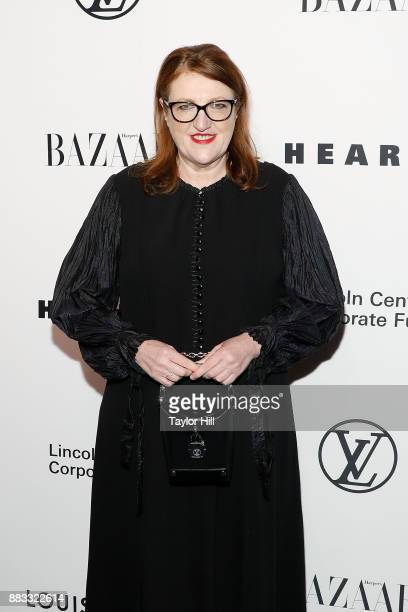 Glenda Bailey attends 'An Evening Honoring Louis Vuitton And Nicolas Ghesquiere' at Alice Tully Hall at Lincoln Center on November 30 2017 in New...