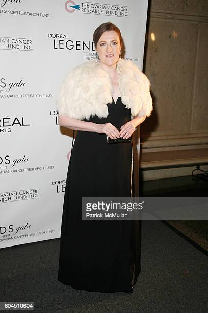 Glenda Bailey attends L'OREAL Legends Gala Benefiting The Ovarian Cancer Research Fund at The American Museum Of Natural History on November 8 2006